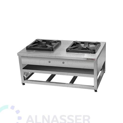 موقد-غاز-شعلتين-مصانع-الناصر-gas-stove-alnasser-factories
