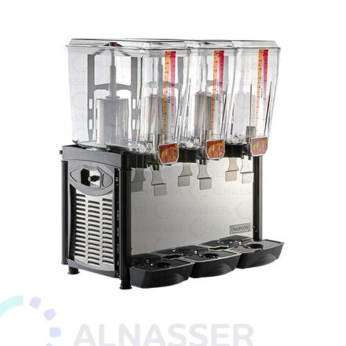 براد-عصير-3-أحواض-إيطالي-مصانع-الناصر-أمام-juice-cooler-2tanks-alnasser-factories
