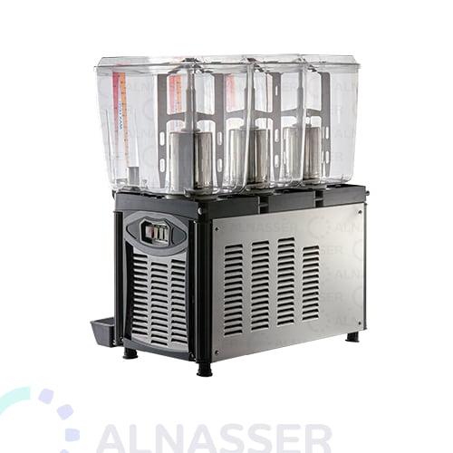 براد-عصير-3-أحواض-إيطالي-مصانع-الناصر-أمام-juice-cooler-2tanks-back-alnasser-factories