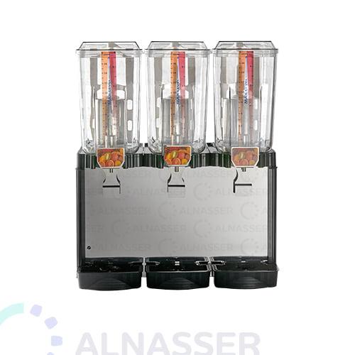 براد-عصير-3-أحواض-إيطالي-مصانع-الناصر-أمام-juice-cooler-2tanks-front-alnasser-factories