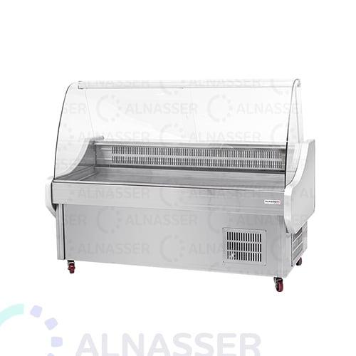 ثلاجة-أجبان-وأسماك-أبواب-مصانع-الناصر-cheeses-cisplay-150cm-alnasser-factories