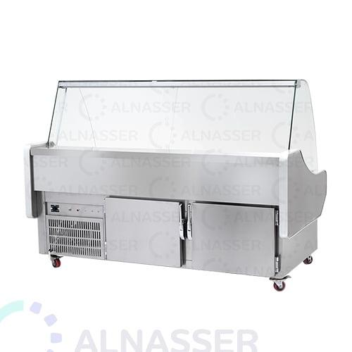 ثلاجة-أجبان-وأسماك-مصانع-الناصر-cheeses-cisplay-alnasser-factories