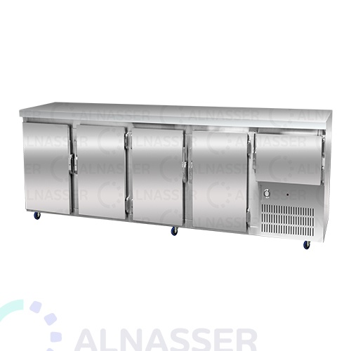 ثلاجة-تخزين-أرضية-5أبواب-مصانع-الناصر-undercounter-refrigerator-alnasser-factories
