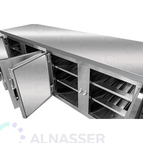 ثلاجة-تخزين-أرضية-5أبواب-مصانع-الناصر-undercounter-refrigerator-close-alnasser-factories