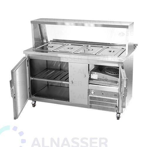ثلاجة-سلطات-برف-خدمة-مصانع-الناصر-خلف-salad-refrigerator-with-sevice-shelf-alnasser-factories