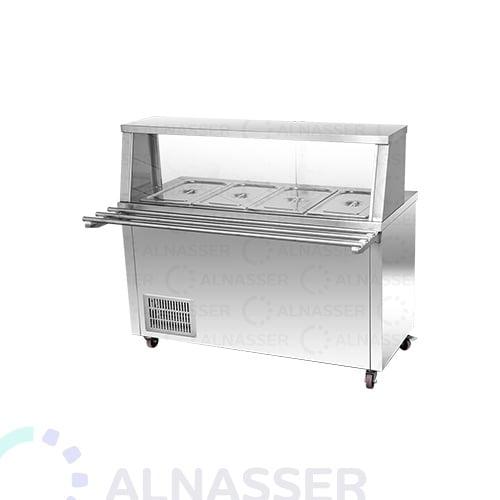 ثلاجة-سلطات-برف-خدمة-مصانع-الناصر-salad-refrigerator-with-sevice-shelf-alnasser-factories