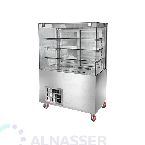 ثلاجة-عرض-حلويات-أمام-مصانع-الناصر-display-refrigerator-100cm-alnasser-factories