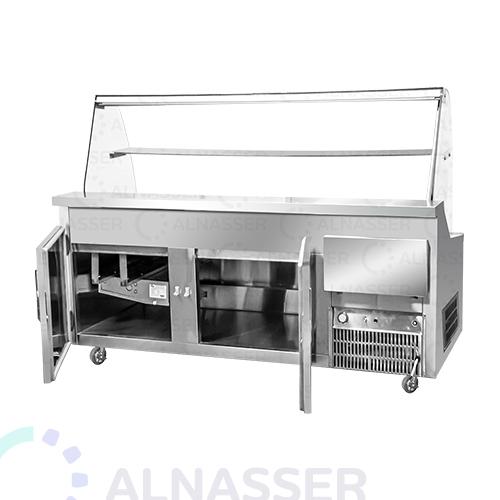 ثلاجة-عرض-فواكه-صحون-الخلف-مصانع-الناصر-fruits-display-refrigerator-alnasser-factories