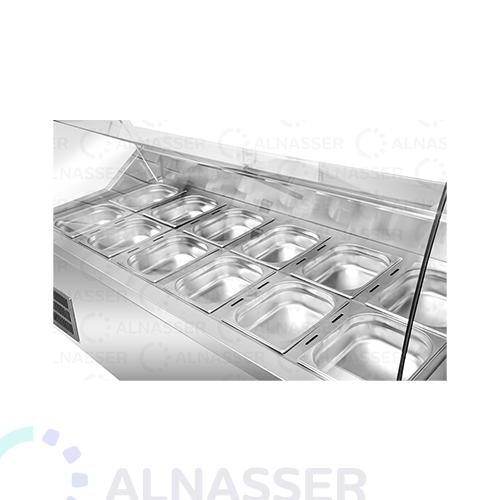 ثلاجة-عرض-فواكه-صحون-الخلف-مصانع-الناصر-fruits-display-refrigerator-close-alnasser-factories