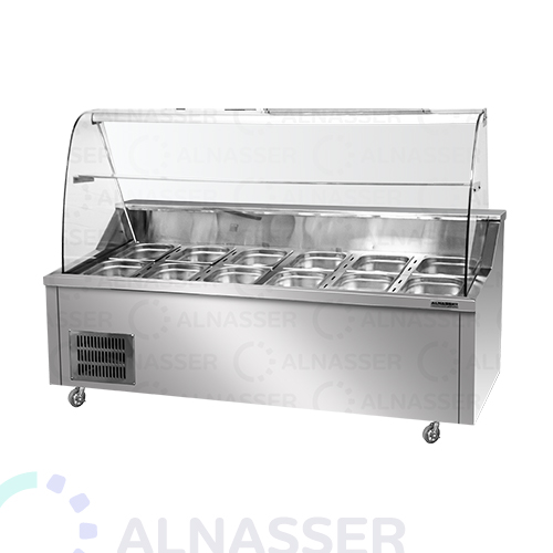 ثلاجة-عرض-فواكه-صحون-مصانع-الناصر-fruits-display-refrigerator-alnasser-factories