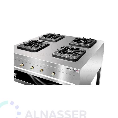 موقد-غاز-بقاعدة-4-شعلات-مصانع-الناصر-gas-stove-square-close-alnasser-factories