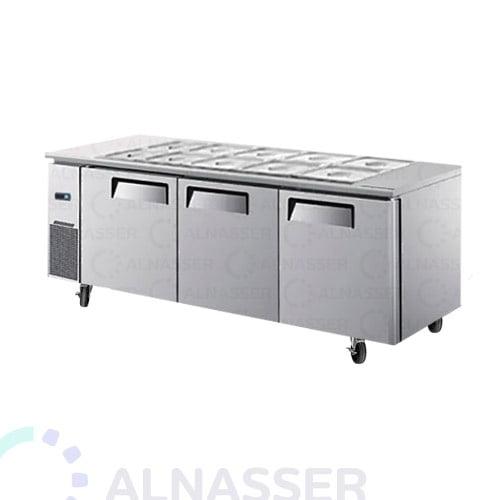 ثلاجة-تخزين-3-أبواب-بصحون-مصانع-الناصر-undercounter-fridge-alnasser-factories