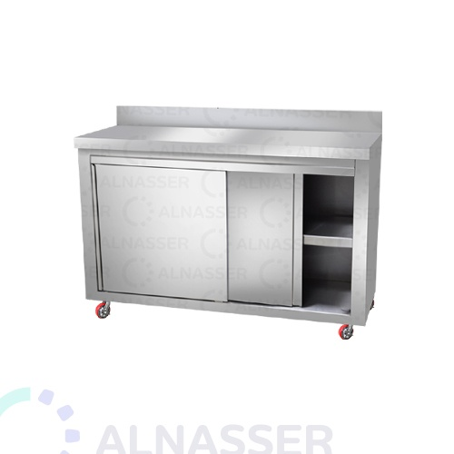 خزانة-أرضية-مصانع-الناصر-بابين-floor cabinet-alnasser-factories-